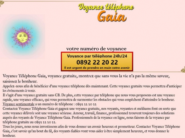 voyance-telephone-gaia.com